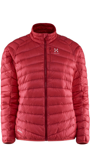 Haglöfs W's Essens III Down Jacket Carnelia/Real Red
